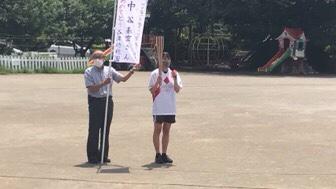 卒園生☆聖火ランナー!