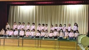 年長☆音楽発表会