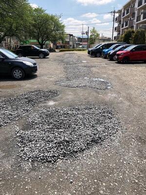 駐車場整備のお知らせ